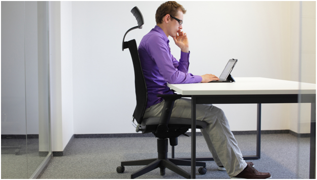 Keep Good Posture In Office Chair